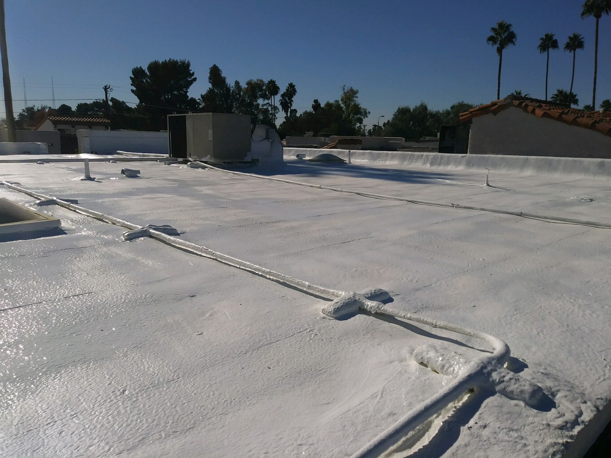 Arizona Foam Roof Cleaning - After